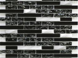 CRA015 - Crackle Glas, Mosaik Glasfliese 29,8x30,5 cm. Acqualine
