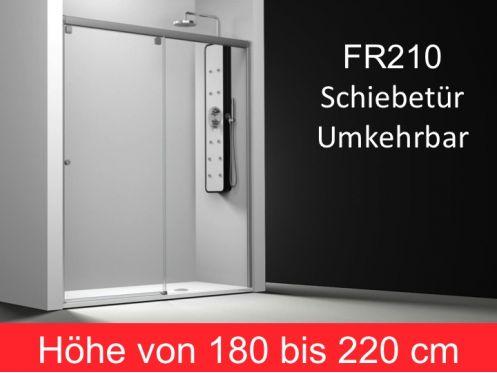 schiebet r duscht r 105 cm befestigungs richtige h he. Black Bedroom Furniture Sets. Home Design Ideas