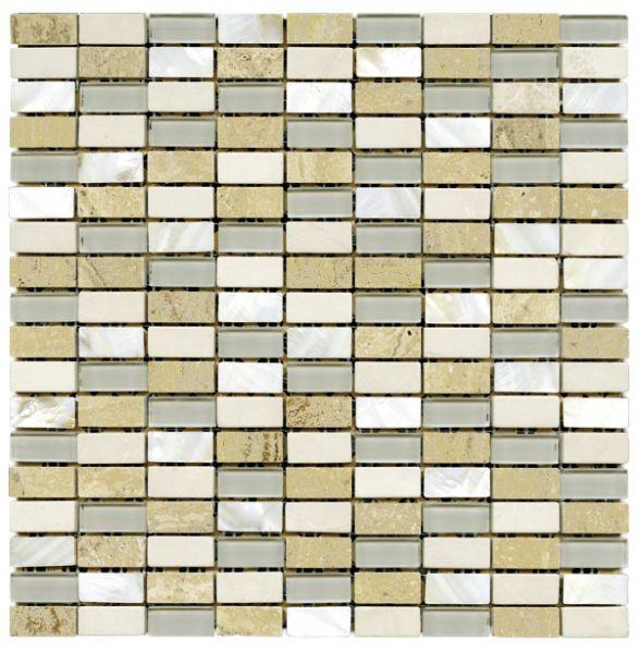 pflastersteine bricks von gl sern mosa ques et galets n002 n car arena mosaik fliesen 30x30. Black Bedroom Furniture Sets. Home Design Ideas