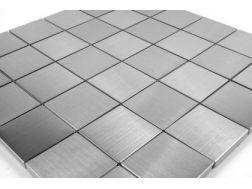 edelstahl mosaik fliesen badezimmer mosaiken aluminium bad. Black Bedroom Furniture Sets. Home Design Ideas