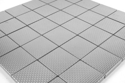 pflastersteine bricks von gl sern mosa ques et galets mosaik fliesen edelstahl geb rstet. Black Bedroom Furniture Sets. Home Design Ideas