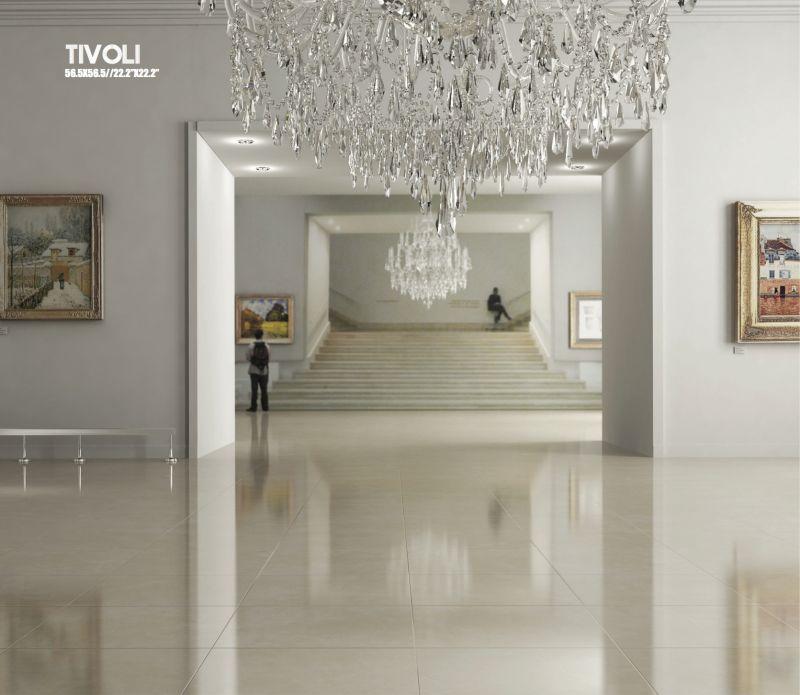 Boden- Und Wandfliesen. Terrasse - Tivoli Beige 56.5X56.5 Cm