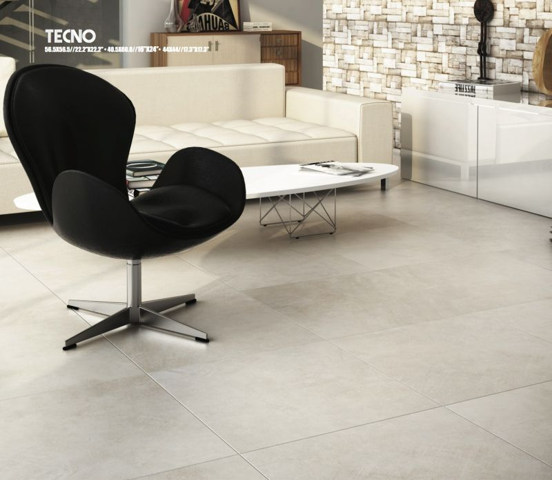 Captivating TECNO Taupe 56.5X56.5 Cm   44X44 Cm Et 40,5x60,8