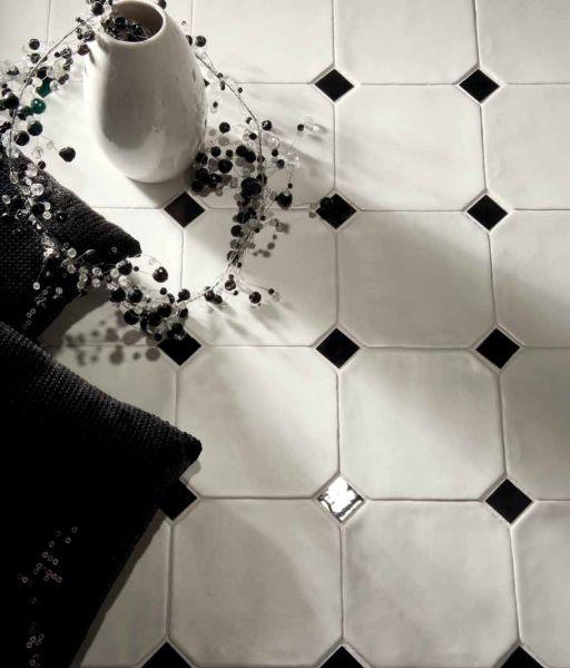 Boden- und Wandfliesen. Mural - Octagon Beige mate 15x15 cm ...