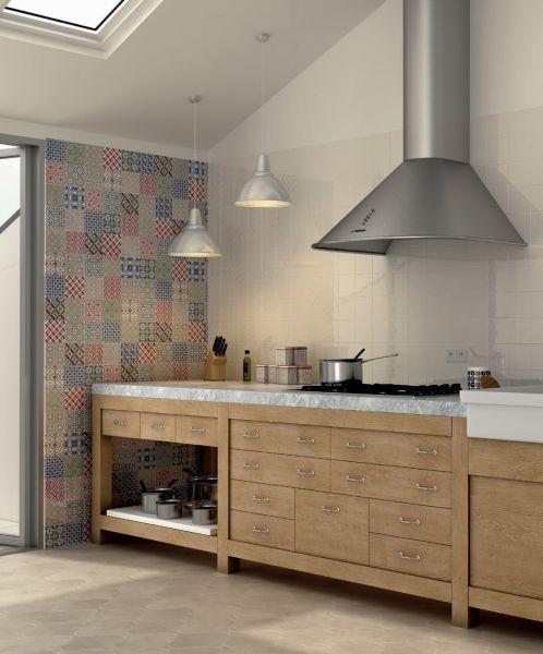 Boden und wandfliesen cuisine mural country patchwork for Boden und wandfliesen