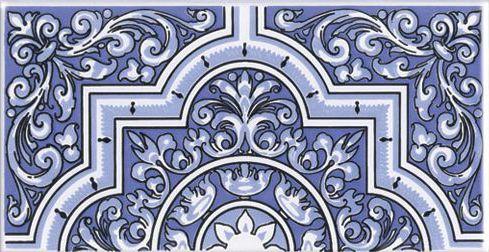 boden und wandfliesen oriental monti base 14x28 cm orientalische fayence fliesen. Black Bedroom Furniture Sets. Home Design Ideas