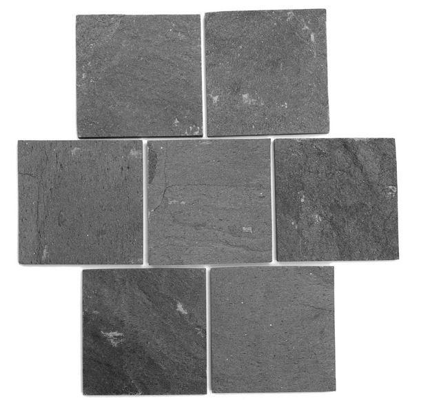 boden und wandfliesen terrasse fliesen und natursteinplatte 10x10 cm piedras schwarz. Black Bedroom Furniture Sets. Home Design Ideas