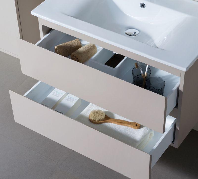 Badmöbel - Waschbecken - Handwaschbecken Meuble Sdb