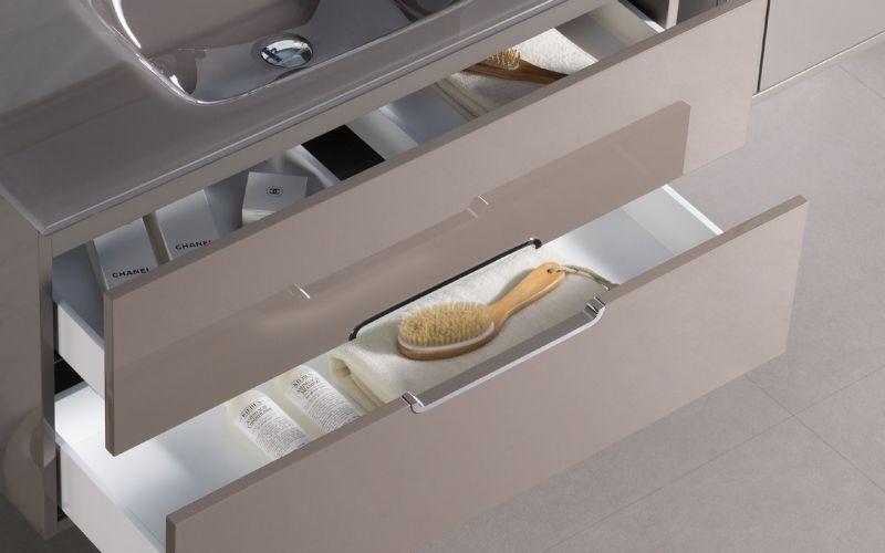 Badm bel waschbecken handwaschbecken meubles sdb badm bel 100 cm adria1000 wei oder - Badmobel 100 cm ...
