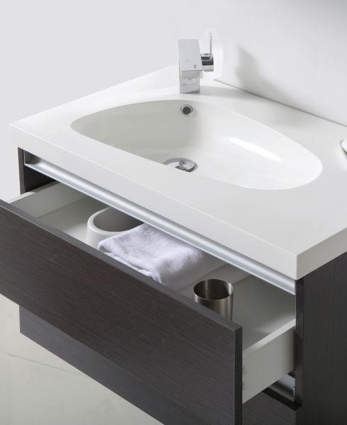 P Badezimmermöbel: Handwaschbecken Meuble SDB