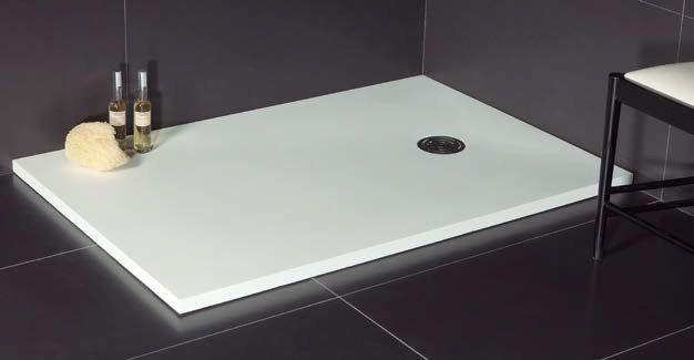 duschwanne longueur 115 115 x 70 115 x 75 duschwanne resin geringe gr e ultraflach. Black Bedroom Furniture Sets. Home Design Ideas