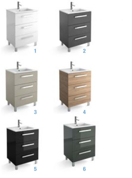 Badm bel waschbecken handwaschbecken meuble sdb badm bel 100 cm bois orme 1000 3t - Badmobel 100 cm ...