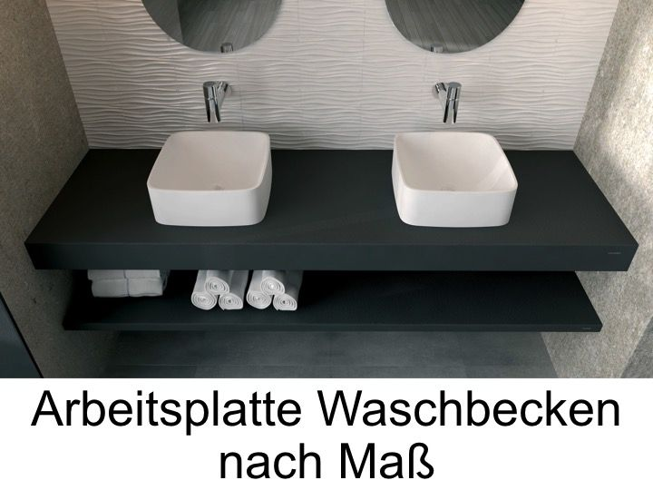 waschbecken plan vasque individuelle arbeitsplan harz bad waschbecken capri pompeya steineffekt. Black Bedroom Furniture Sets. Home Design Ideas