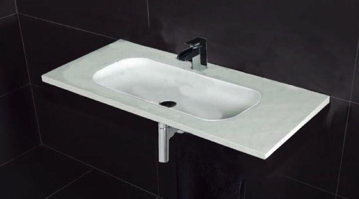 waschbecken largeur 170 waschbecken breite 170 cm kunstharz oba schwarz. Black Bedroom Furniture Sets. Home Design Ideas