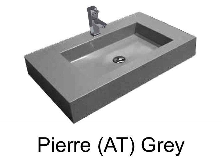 Waschbecken Grau waschbecken grau. gallery of bay eiche riviera honig beton grau