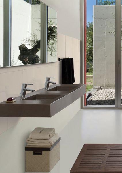 waschbecken largeur 160 - doppel-waschbecken ausgesetzt oder, Hause ideen