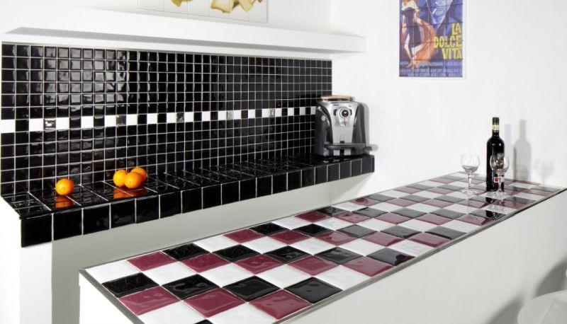 Boden und wandfliesen cuisine mural conic beige brillo - Carrelage cuisine 10x10 ...
