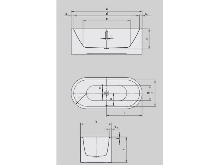 Badewannen Stahl Email Preisvergleich : Badewannen Longueur 170 - Badewanne 170 x 75 cm, Kaldewei Stahl-Email ...