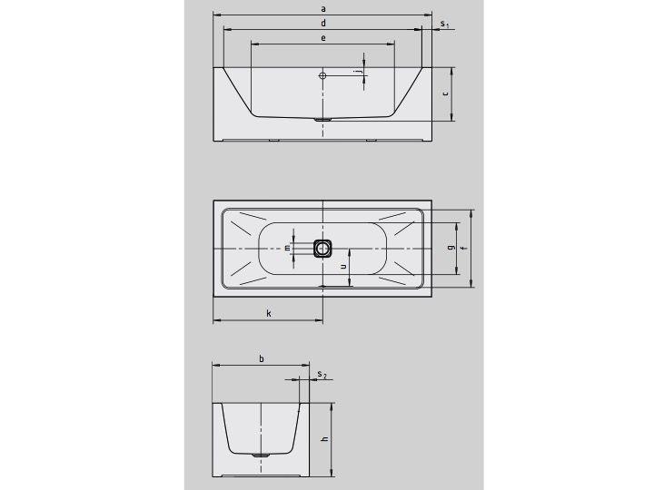 heizk rper beheizter handtuchhalter baignoires badewanne 180 x 90 cm kaldewei stahl email. Black Bedroom Furniture Sets. Home Design Ideas