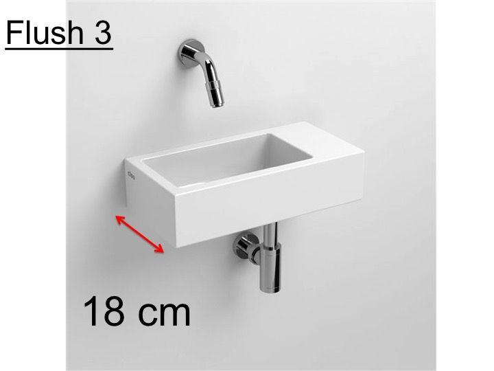 h ndewaschen wei e keramik waschbecken 18 cm ohne. Black Bedroom Furniture Sets. Home Design Ideas