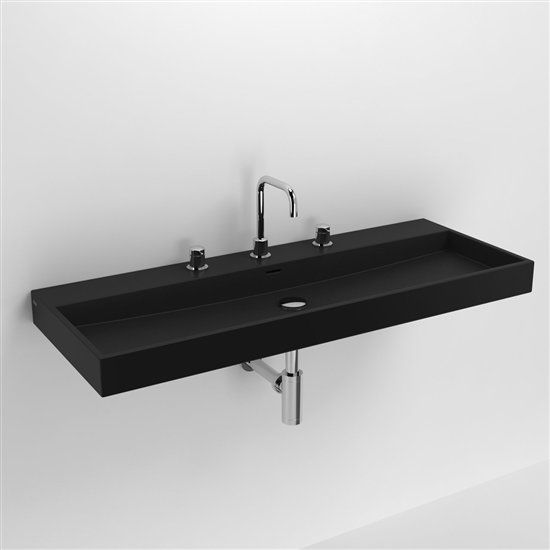 badm bel waschbecken handwaschbecken lavabo et vasque keramik waschbecken 110 cm washme. Black Bedroom Furniture Sets. Home Design Ideas