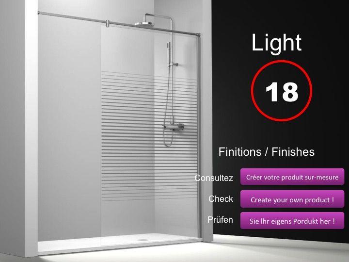 duschabtrennungen longueur 50 feste duschwand 50 cm mit stabilisator von wand zu wand h he. Black Bedroom Furniture Sets. Home Design Ideas