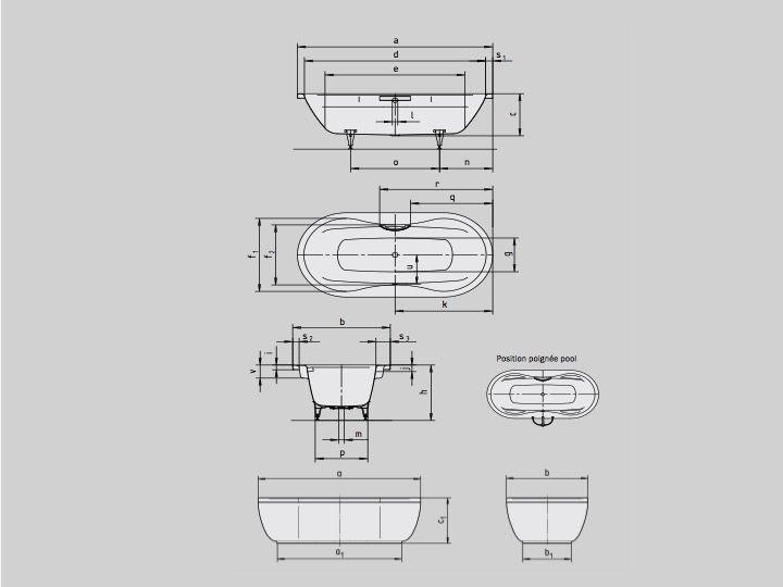 stahl email badewanne oder acryl badewanne cm aus kaldewei stahl email avantgarde schr g. Black Bedroom Furniture Sets. Home Design Ideas
