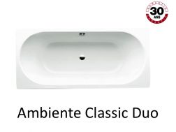 Badewanne 180 x 80 cm, Stahl-Email Kaldewei AMBIENTE CLASSIC DUO