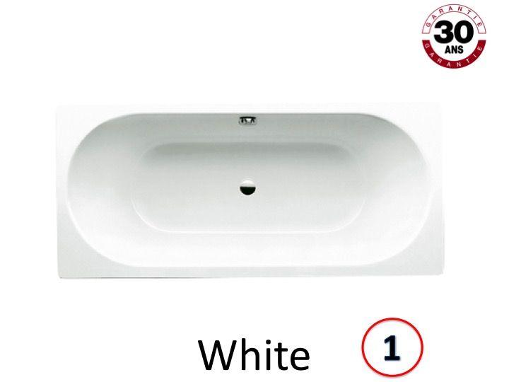 Großartig Badewannen Longueur 190 - Badewanne 190 x 80 cm, Stahl-Email  PP05