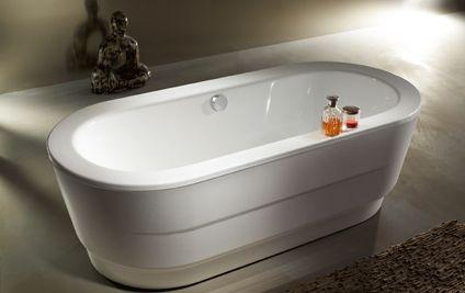 Heizk rper beheizter handtuchhalter baignoires for Kaldewei acryl badewanne