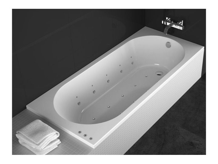 badewannen longueur 170 badewanne 170x70 cm acryl sanycces serena. Black Bedroom Furniture Sets. Home Design Ideas