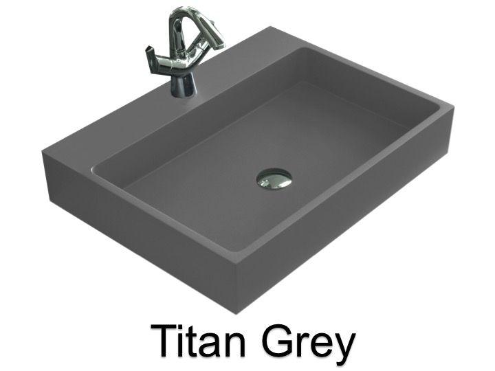 Waschbecken Grau waschtisch 45 cm breit. perfekt allibert badmbel set badmbel