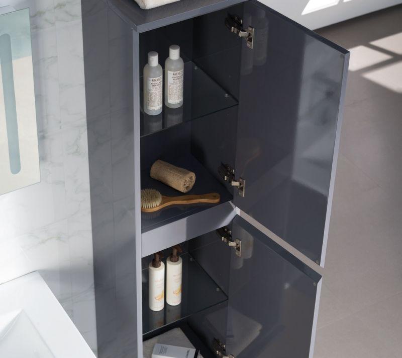 badm bel waschbecken handwaschbecken meuble teck badezimmerschrank suspendiert mit. Black Bedroom Furniture Sets. Home Design Ideas