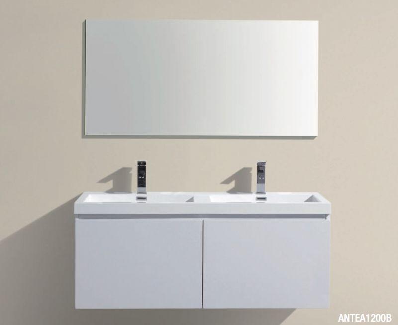 badm bel waschbecken handwaschbecken meuble teck badezimmerschrank 120 cm. Black Bedroom Furniture Sets. Home Design Ideas