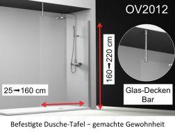 duschabtrennung 120 cm verkauf von duschabtrennung 120x180 120x185 120x190 120x195 120x200. Black Bedroom Furniture Sets. Home Design Ideas
