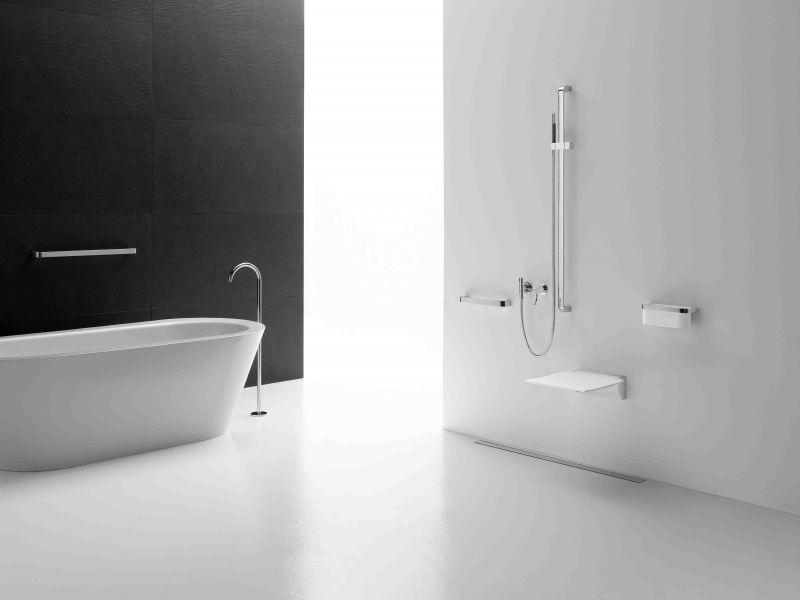 radiateur s che serviettes pmr accessoires si ge douche relevable design pmr 350. Black Bedroom Furniture Sets. Home Design Ideas