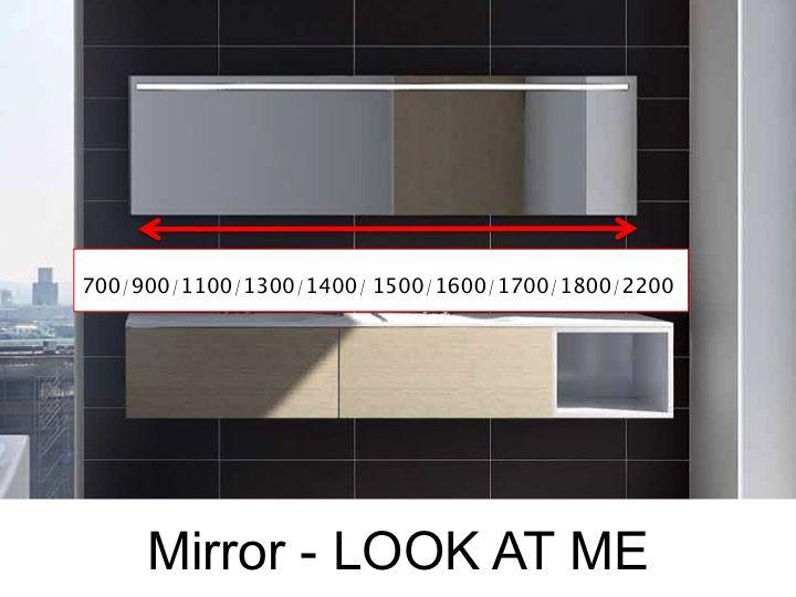 Spiegel mit led beleuchtung amazing designer spiegel mit for Spiegel you look amazing