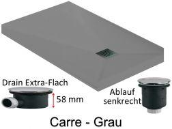 duschwanne mit einer l nge von 65x120 70x120 75x120 80x120 85x120 90x120 95x120 100x120 cm. Black Bedroom Furniture Sets. Home Design Ideas