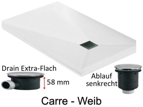 duschwanne longueur 150 extra flache duschwanne 150 cm. Black Bedroom Furniture Sets. Home Design Ideas