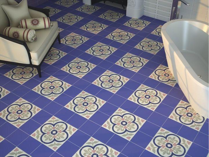 Fußboden Fliesen Dicke ~ Boden und wandfliesen aspect cx ciment eternia azul