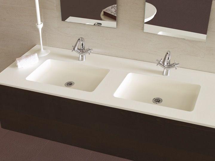 Waschbecken Largeur 170 - Waschtischplatte mit integriertem ...