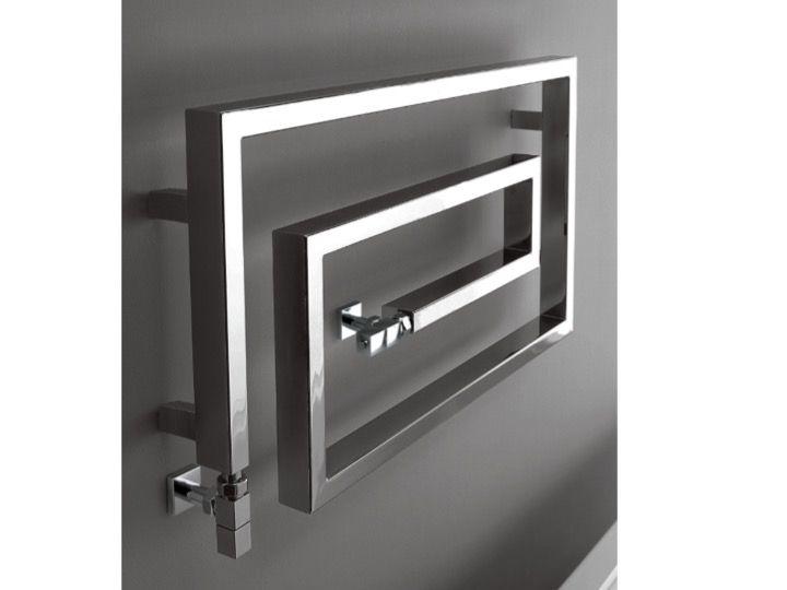 Heizkörper, beheizter Handtuchhalter 200 Watt - Designer Warmwasser ...