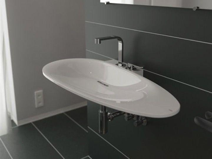 Design Corian Cristalplant® Waschbecken - Clou First