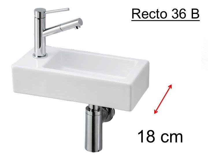badm bel waschbecken handwaschbecken lave mains ultra kleines handwaschbecken keramik. Black Bedroom Furniture Sets. Home Design Ideas
