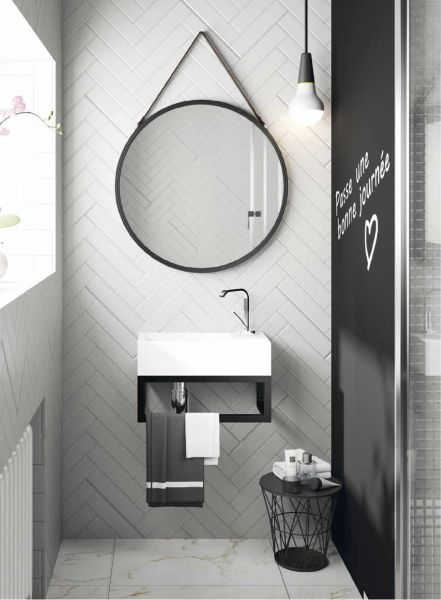 badm bel waschbecken handwaschbecken lave mains wc waschbecken mit art deco design mit. Black Bedroom Furniture Sets. Home Design Ideas