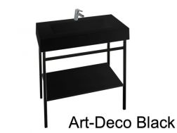 Badezimmerschrank im Industriestil - Atelier - Art Deco.