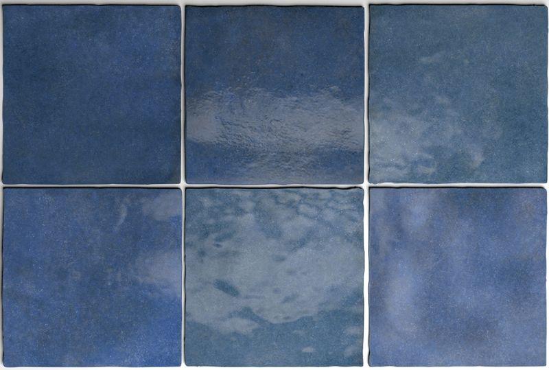 Artisan Colonial Blue 13 X 13 Cm Orientalische Fayence Fliesen