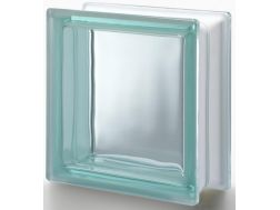 Glasblock, transparenter Block - Glatt - TURCHESE Q19 T Pegasus 20 x 20