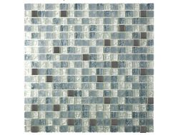 CRA005 Crackle Glas, Mosaik Glasfliese 30x30 cm. Acqualine