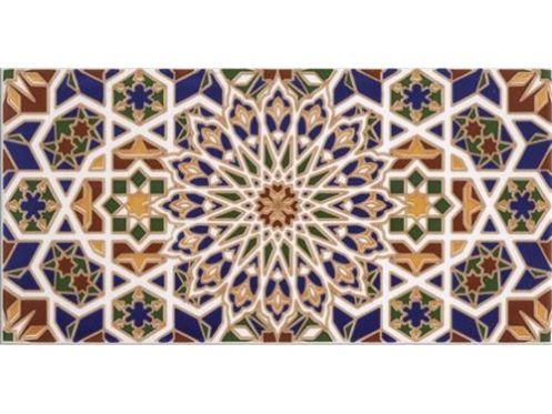 HISPALIS 15x30 cm- orientalische Fayence Fliesen